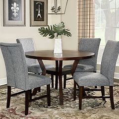 Powell Hiatt Dining Table & Chairs 5-piece Set