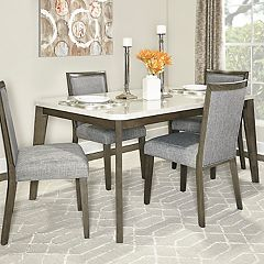 Powell Primm Dining Table & Chairs 5-piece Set