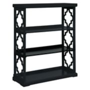 Powell Conrad 3-Shelf Bookcase