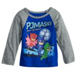 Toddler Boy PJ Masks Raglan Graphic Tee