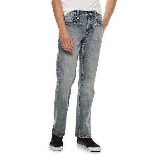 Men's Flypaper Straight-Leg Medium Wash Jeans