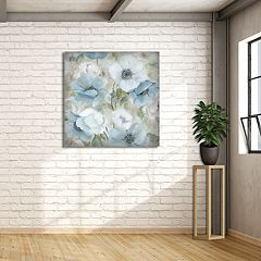 New View Pastel Garden I 35' x 35' Canvas Wall Art