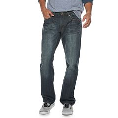 Men's Flypaper Embossed Straight-Leg Jeans