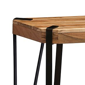 Alaterre Furniture Ryegate Live Edge End Table