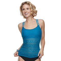 52fa2f5f62 Womens Aqua Couture Tankini Swimsuit Tops - Swimsuits, Clothing | Kohl's
