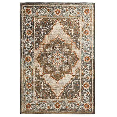 Natco New London Framed Floral Rug