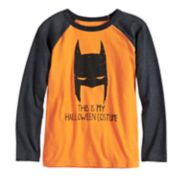 "Boys 4-12 Jumping Beans® DC Comics Batman ""This Is My Halloween Costume"" Raglan Tee"