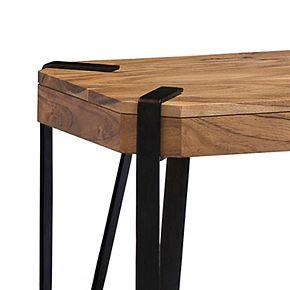 Alaterre Furniture Ryegate Live Edge Bench