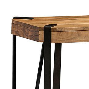 Alaterre Furniture Ryegate Live Edge Console Table