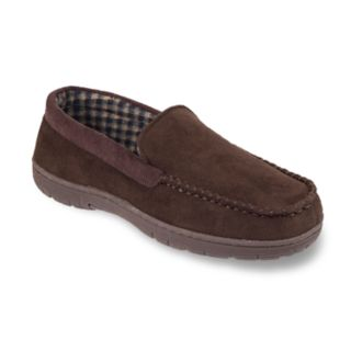 Men's HeatKeep Microsuede Venetian Moccasin Slippers