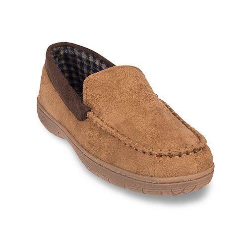 77c39ed39288 Men s HeatKeep Microsuede Venetian Moccasin Slippers