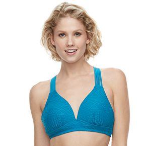 Women's Aqua Couture Molded Bra Bikini Top