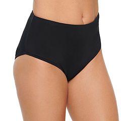 Women's Croft & Barrow® High-Waisted Bikini Bottoms