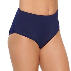 Women's Croft & Barrow® High-Waisted Bikini Bottoms