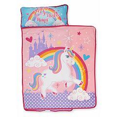 Baby Boom Unicorn 'Let's Make Magic' Toddler Nap Mat