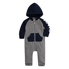 Baby Boy Levi's Knit Raglan Coverall