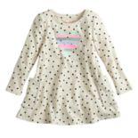 Toddler Girl Jumping Beans® Long-Sleeve Print Swing Dress