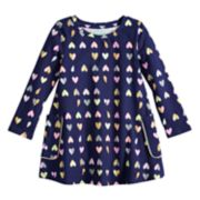 Toddler Girl Jumping Beans® Long-Sleeve Print Swing Dress