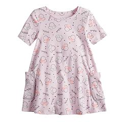 Disney's Minnie Mouse Toddler Girl Short-Sleeve Swing Dress by Jumping Beans®