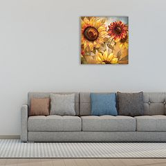 New View Sunflower Cheer 20' x 20' Canvas Wall Art