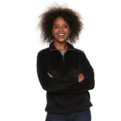 Women's SONOMA Goods for Life™ Supersoft Half-Zip Sherpa Sweatshirt
