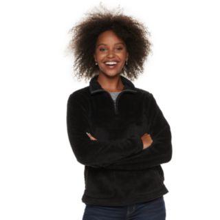 Women's SONOMA Goods for Life? Supersoft Half-Zip Sherpa Sweatshirt