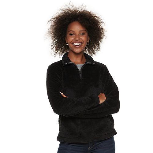 c391ba4aa Women's SONOMA Goods for Life™ Supersoft Half-Zip Sherpa Sweatshirt