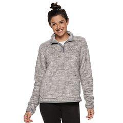 Women's SONOMA Goods for Life™ Supersoft Half-Zip Sherpa Sweatshirt
