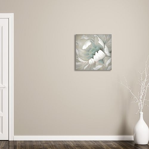 "New View Winter Blooms II 16"" x 16"" Canvas Wall Art"