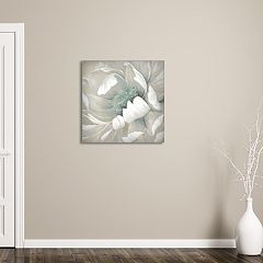 New View Winter Blooms II 24' x 24' Canvas Wall Art