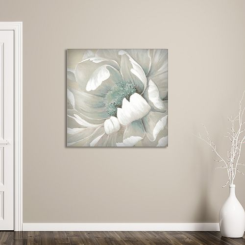 "New View Winter Blooms II 35"" x 35"" Canvas Wall Art"