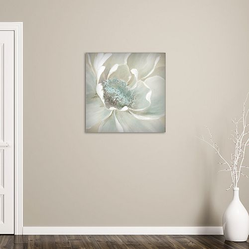 """New View Winter Blooms I 24"""" x 24"""" Canvas Wall Art"""