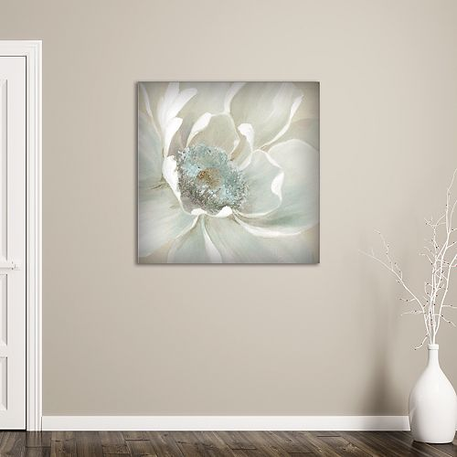 "New View Winter Blooms I 35"" x 35"" Canvas Wall Art"