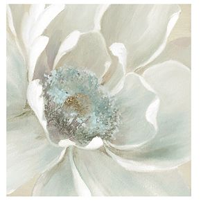 """New View Winter Blooms I 35"""" x 35"""" Canvas Wall Art"""