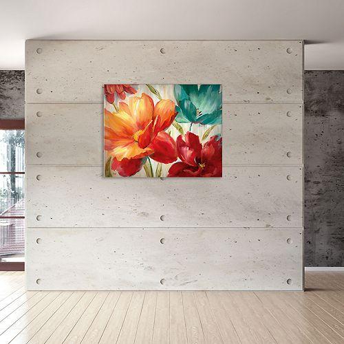 """New View Avalon Garden 16"""" x 20"""" Canvas Wall Art"""
