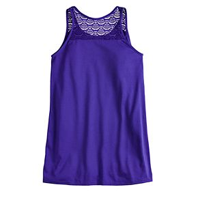 """Girls 7-16 & Plus Size SO® """"Off Duty Mermaid"""" Swimsuit Cover-Up"""