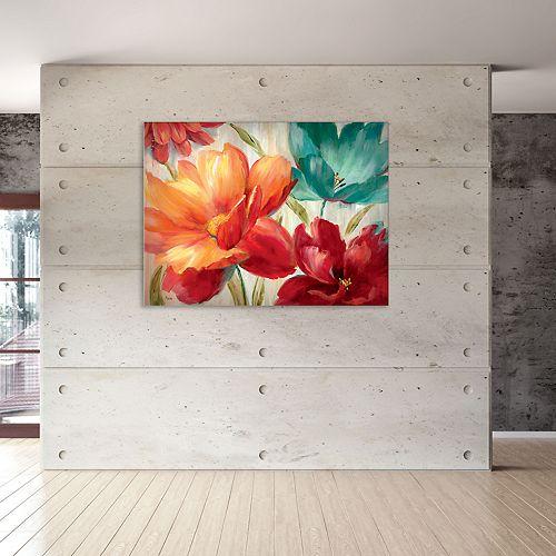 """New View Avalon Garden 30"""" x 40"""" Canvas Wall Art"""