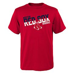 Boys 4-18 Boston Red Sox Meshed Up Tee