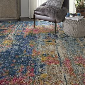 Nourison Celestial Tufted Abstract Rug