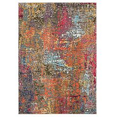 Nourison Celestial Distressed Abstract Rug