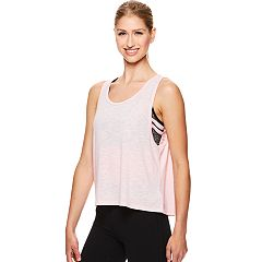 Women's Gaiam Harley Crop Yoga Tank