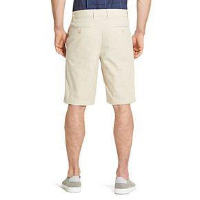 Men's Van Heusen Classic-Fit Chambray Stretch Waistband Shorts