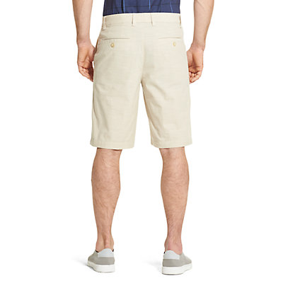 Men's Van Heusen Classic-Fit Chambray Stretch Waistband Shorts