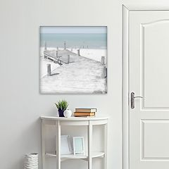 New View Old Jetty 24' x 24' Canvas Wall Art