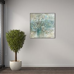 New View Hydrangea 16' x 16' Canvas Wall Art