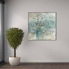New View Hydrangea 24' x 24' Canvas Wall Art