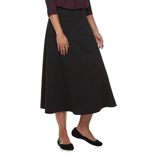 Women's Dana Buchman Pull-On Midi Skirt