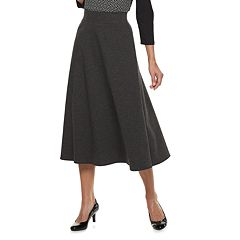 Women's Dana Buchman Pull-On Midi Skirt