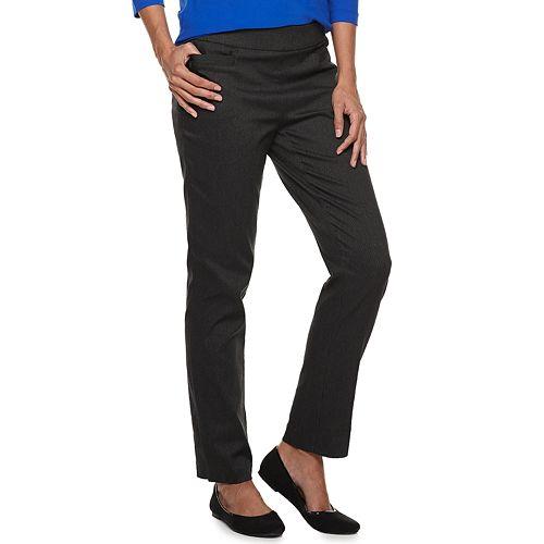 Women's Dana Buchman Striped Straight-Leg Pants