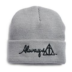 Women's Harry Potter Always Deathly Hallows Knit Beanie